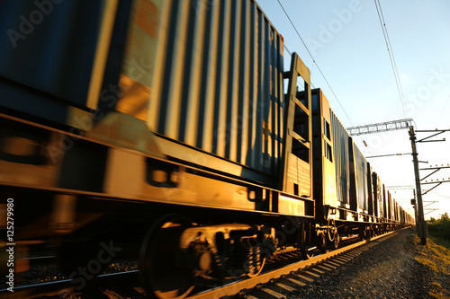 Carta da parati Cargo train