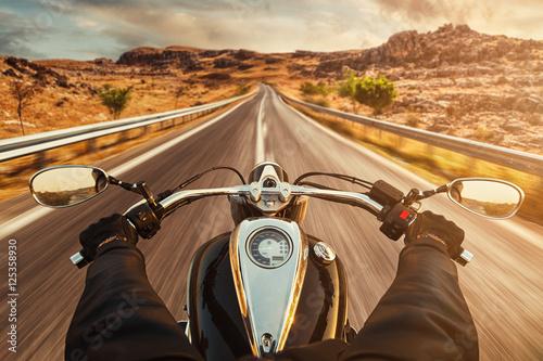 Wallpaper Mural Motorbike