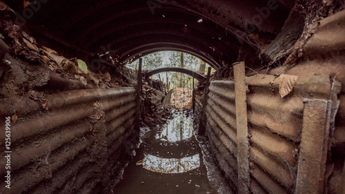 Photo Image 3-First world war trench, Hill 62 Belgium