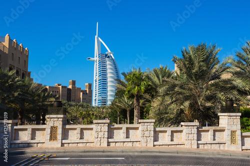 Canvas Print luxury hotel Burj Al Arab