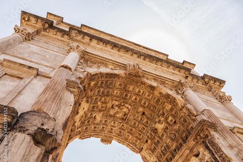 Arch of Titus in Rome Fototapeta