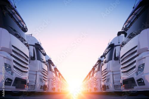 Obraz na plátně Transport Fleet 05