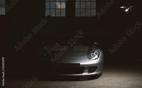 moderner Sportwagen, luxus Rennauto