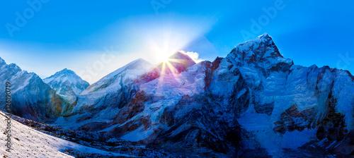Fotografija View of Mt Everest from Kala Patthar