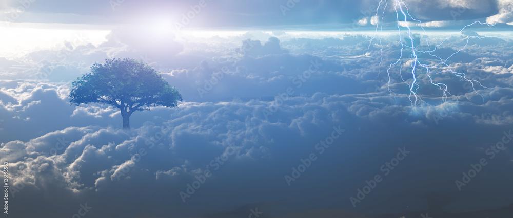 Storm in Heaven - obrazy, fototapety, plakaty