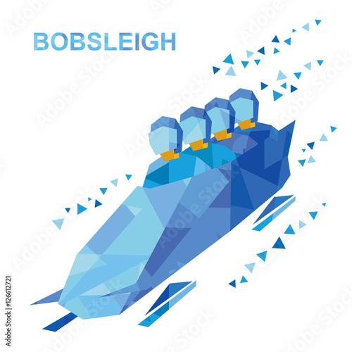 Photo Winter sports - bobsleigh
