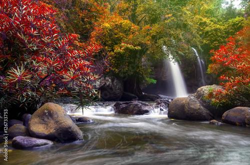 Fototapeta Heo Suwat Waterfall