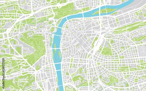 Photo City map of Prague