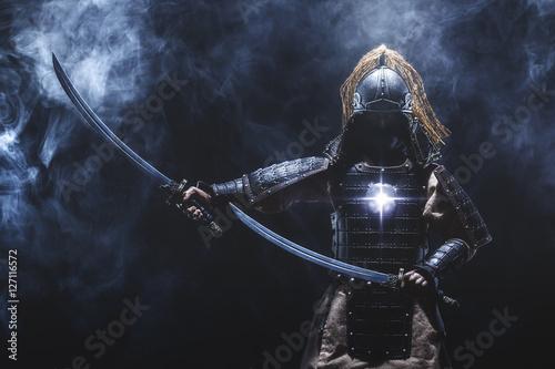 Obraz na plátně Samurai warrior