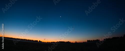 Fotografia, Obraz before the dawn