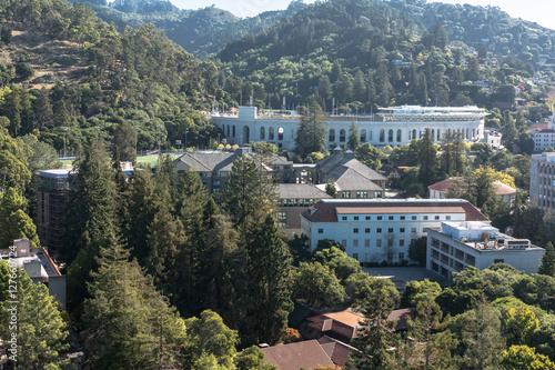 Stampa su Tela California Memorial Stadium view from the Campanile, Berkeley
