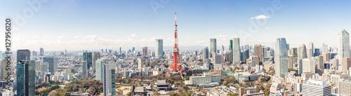 Canvas Print Tokyo Tower, Tokyo Japan