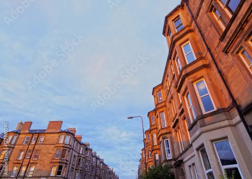 Terraced Houses in Edinburgh
