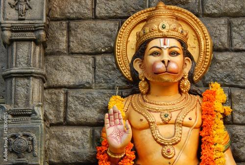 Hindu God Hanuman idol