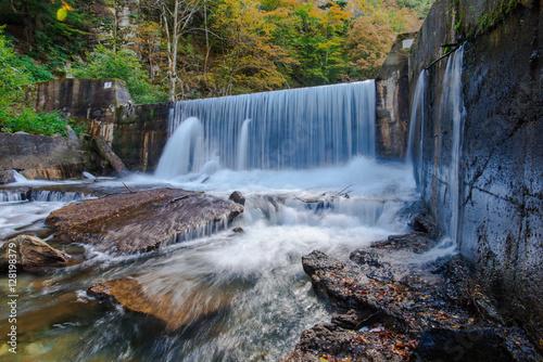 Wild carpathian river