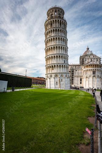 Fotografia Krzywa wieża w Pizie