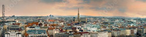 Photo vienna city panorama austria
