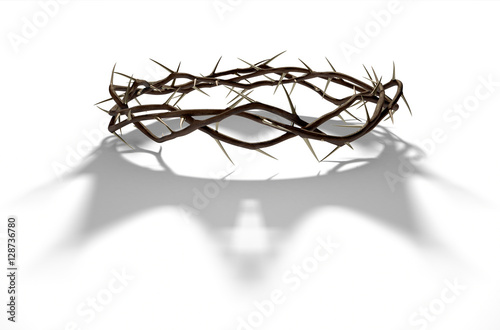 Photo Crown Of Thorns With Royal Shadow
