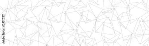 3D geometric background. Seamless pattern. Vector.3D幾何学パターン