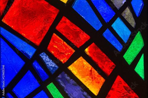 Fotografia, Obraz Stained glass detail.