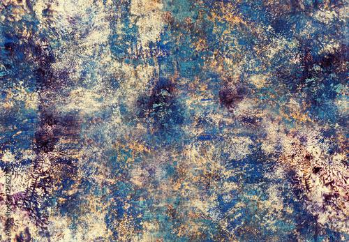 Art painting seamless pattern