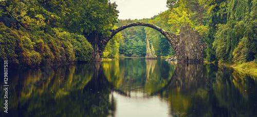 Valokuva Rakotz bridge in Kromlau