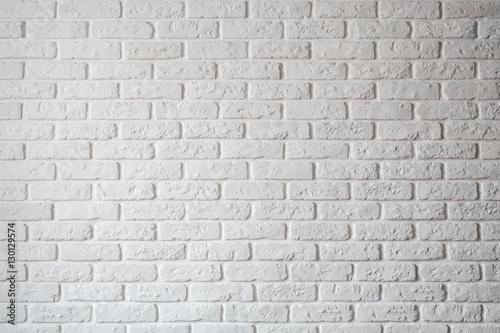 Folia na okno łazienkowe Ścienna biała cegła