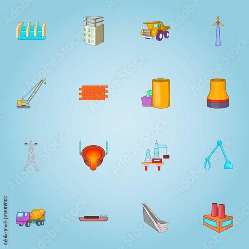 Платно Production icons set