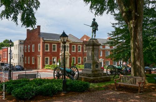 Historic Court Square, Charlottesville, Virginia Fototapeta