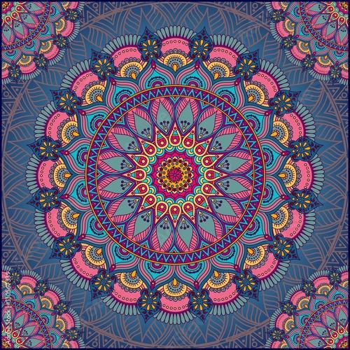 Εκτύπωση καμβά Mandala