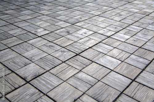 Square wooden texture
