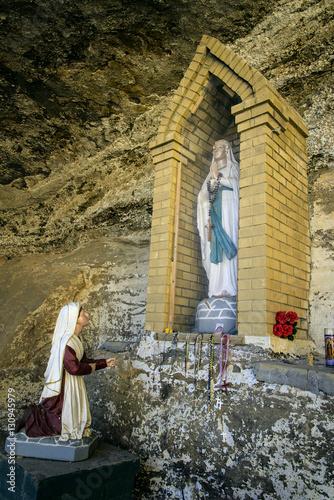 Canvas Print Our Lady of Bernadette of Lourdes - Cebolleta New Mexico