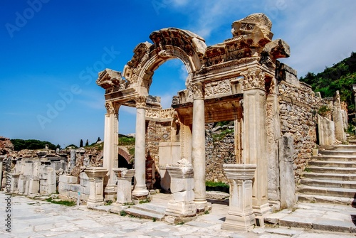 Hadrian-Tempel in Ephesos Fototapeta