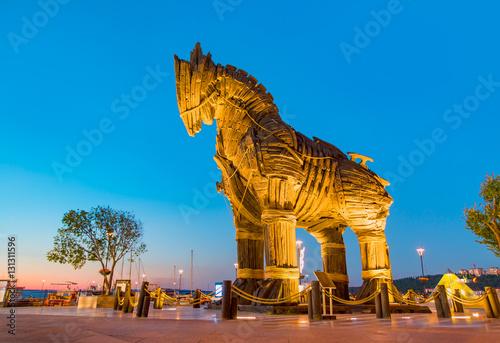 Koń trojański, Canakkale Turcja
