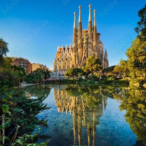 Fototapeta premium Sagrada Familia w Barcelonie, Hiszpania