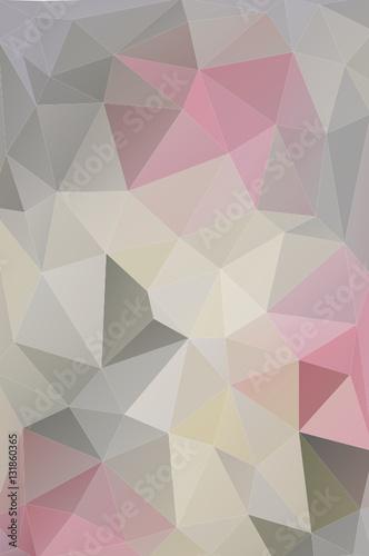 Harmonijny matematycznie wzór stworzony zgodnie z zasadami triangulacji Delone. Idealny na fototapetę do nowoczesnego oraz romantycznego wnętrza.