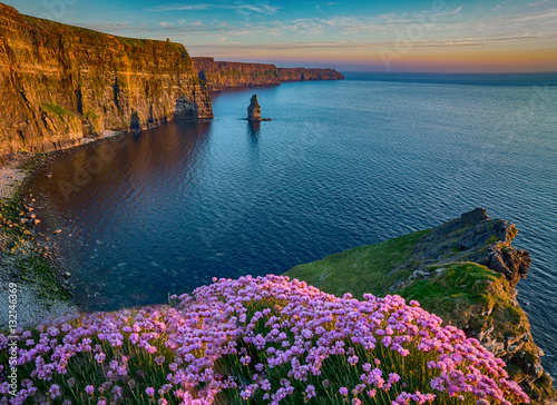 Fotografía Ireland countryside tourist attraction in County Clare