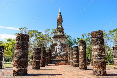 sukhothai historical park in Thailand Fototapeta