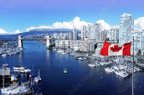 Fototapeta premium Miasto Vancouver