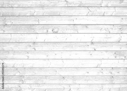 Plakat Białe deski w stylu minimalistycznym