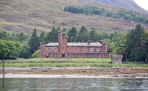 Fotografia Kinloch Castle at Isle of Rum (Scotland)