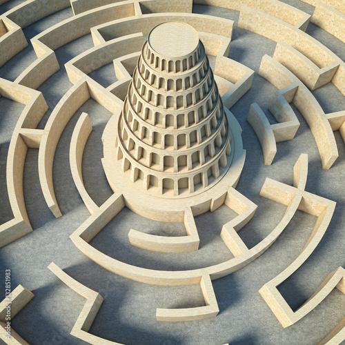 babel tower concept Tapéta, Fotótapéta