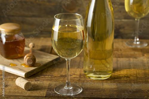 Fotografia Sweet Yellow Honey Wine Meade