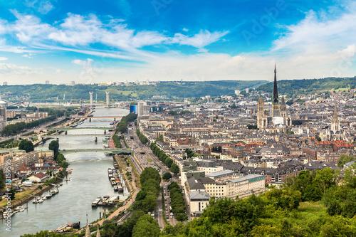 Photo Panoramic view of Rouen