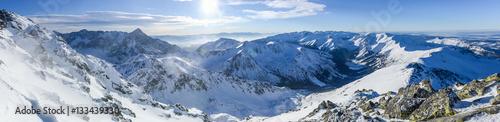 Fototapeta premium Panorama West Tatras, Poland, Kasprowy Wierch