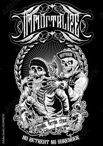 Fotografia tattoo apparel