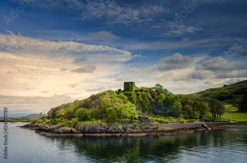 Obraz na plátně Dunollie Castle