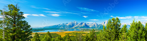Fotografie, Obraz Grand Teton National Park, Wyoming