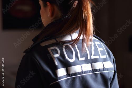 Obraz na płótnie Polizistin