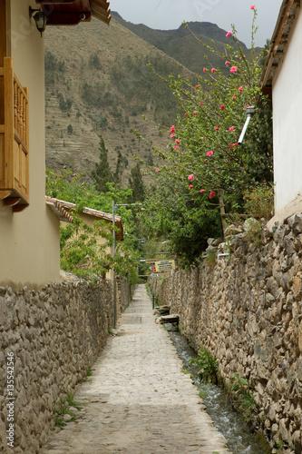 Canvas Print Ollantaytambo Sacred valley Peru